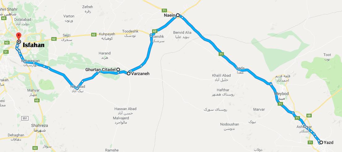 yazd-kharanagh-ghurtan-esf-road